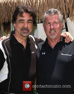 Joe Mantegna and sponsor The 13th annual Women In Film Celebrity Golf Classic held at The Malibu Country Club Los...