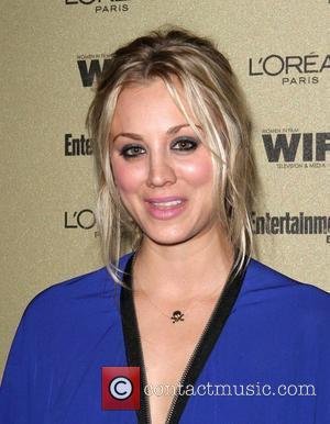 Kaley Cuoco and Entertainment Weekly