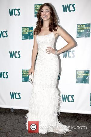 Emmy Rossum 2010 Wildlife Conservation Society Gala, held at Central Park Zoo - Arrivals New York City, USA - 10.06.10