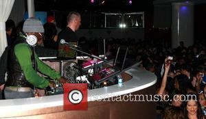 Will.I.Am dj's at Pure night club Las Vegas, Nevada - 01.01.10