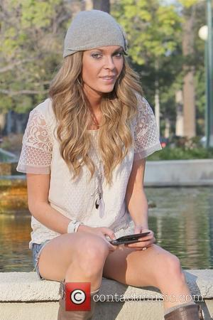 Jasmine Dustin Celebrities at Will Rogers Memorial Park on Sunset Boulevard Los Angeles, California - 19.01.11