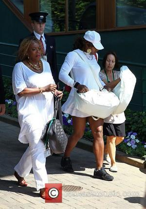 Serena Williams and mother