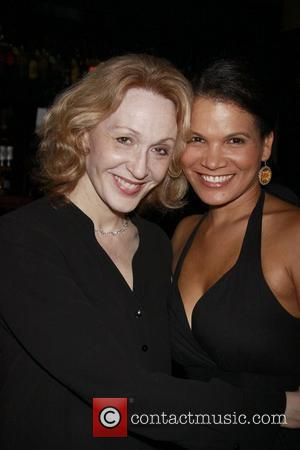 Jan Maxwell and January LaVoy Opening night after party for the Off-Broadway production of 'Wings' held at HB Burger....