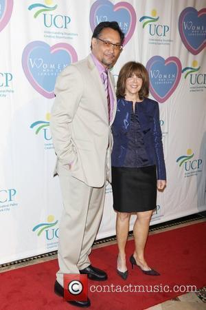 Jimmy Smits and Linda Kaplan Thaler