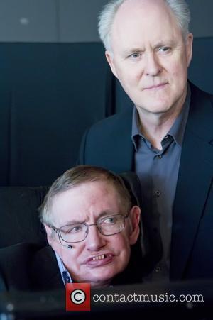John Lithgow and Stephen Hawking
