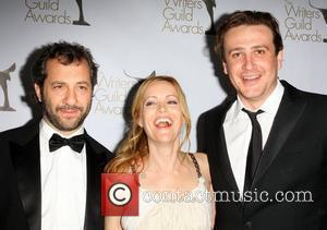 Judd Apatow, Leslie Mann and Jason Segel