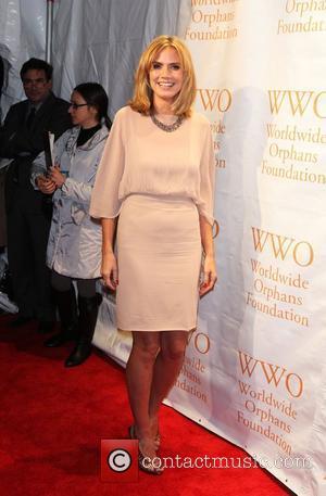 Heidi Klum, Seal and Wall Street