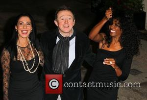 Terri Seymour, Louis Walsh and Sinitta