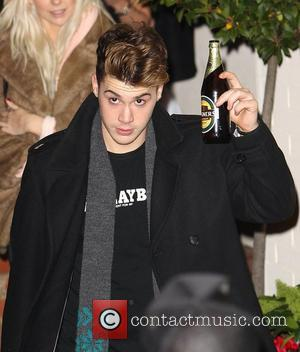Aiden Grimshaw,  leaves the studio after 'The X Factor Final' London, England - 12.12.10