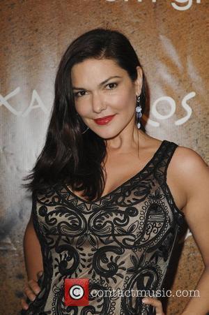 Laura Harring at the opening of Xandros Greek Restaurant at 50 N. La Cienega Blvd Beverly Hills, California - 07.10.10