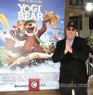 Dan Aykroyd arrives at the Los Angeles Premiere of Yogi Bear held at the Mann Village Theater. Los Angeles, California...