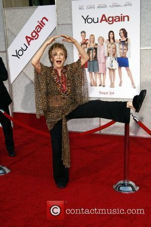 Cloris Leachman Los Angeles Premiere of 'You Again' held at the El Capitan Theatre.  Hollywood, California - 22.09.10
