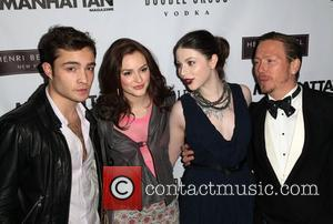 Ed Westwick, Leighton Meester, Michelle Trachtenberg and Eric Daman Launch party to celebrate the new book You Know You Want...