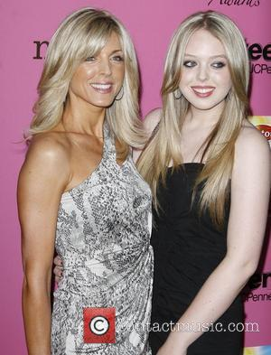 Marla Maples and Daughter Tiffany Trump
