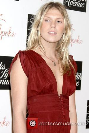 Alexandra Richards Z Spoke by Zac Posen launch event held at Saks Fith Avenue - Arrivals New York City, USA...