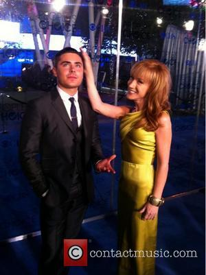 Kathy Griffin and Zac Efron