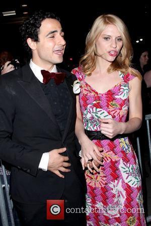 Zac Posen and Claire Danes