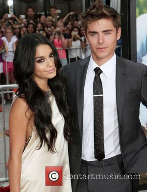 Zac Efron, High School Musical and Vanessa Hudgens