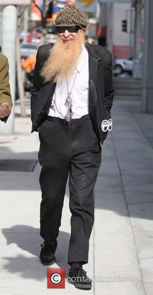 Billy Gibbons of American rock band 'ZZ Top' was spotted leaving 'Ketchup' after having lunch with a friend in West...