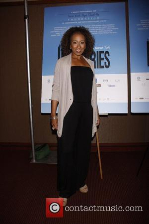 Tamara Tunie Reading of Sarah Tuft's '110 Stories', a benefit for New York Says Thank You Foundation held at the...
