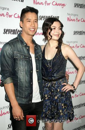 Jared Eng, Miranda Cosgrove The 'Seventeen Magazine Pretty Amazing Cover Model' finalists luncheon at the Mandarin Hotel in Soho New...