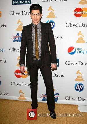 Adam Lambert and David Geffen