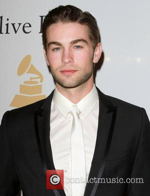 Chace Crawford and David Geffen