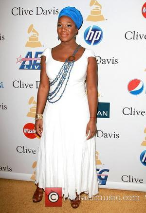 India Arie 2011 Pre-Grammy Gala and Salute to Industry Icons honoring David Geffen - Arrivals Los Angeles, California - 12.02.11