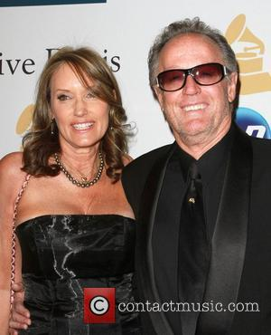 Peter Fonda and his girlfriend Parky DeVogelaere 2011 Pre-Grammy Gala and Salute to Industry Icons honoring David Geffen - Arrivals...
