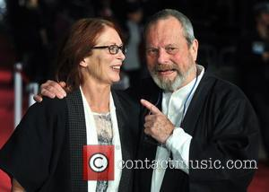 Terry Gilliam and guest The BFI London Film Festival: '360' European film premiere held at the Odeon Leicester Square. London,...