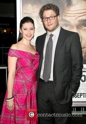 Lauren Miller and Seth Rogen 50/50 New York premiere - Arrivals New York City, USA - 26.09.11