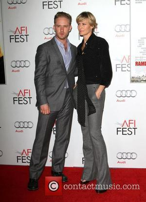Ben Foster, Robin Wright and Grauman's Chinese Theatre