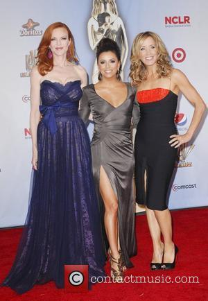 Felicity Huffman, Eva Longoria, Marcia Cross and Alma Awards