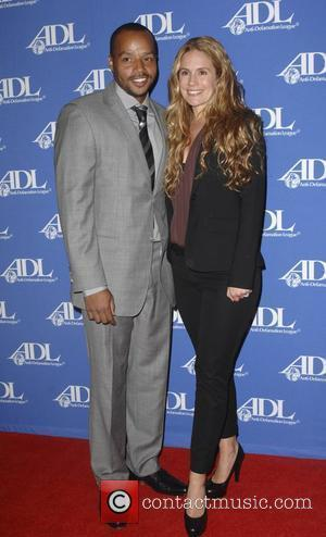 Donald Faison, Cacee Cobb  Anti-Defamation League Entertainment Industry Awards Dinner - Red Carpet Los Angeles, California - 11.10.11