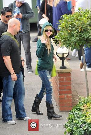 Avril Lavigne arriving at the studios for tonight's semi-final of 'Britain's Got Talent' London, England - 31.05.11