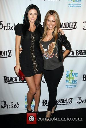 Jayde Nicole and Jessica Hall