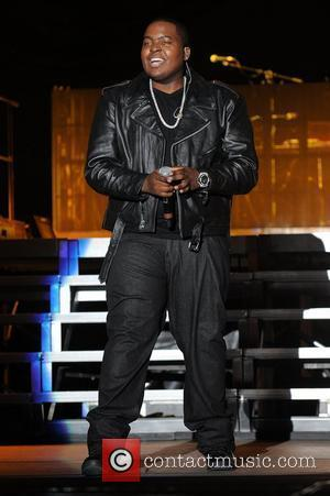 Sean Kingston performs during the Black Eyed Peas final concert of the year at Sun-Life Stadium. Miami Gardens, Florida -...