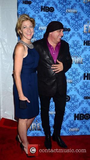 Edie Falco and Steve Van Zandt