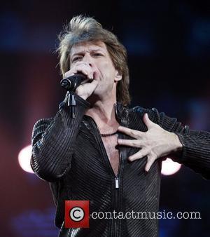 Jon Bon Jovi of Bon Jovi performing live in concert at TD Garden Boston, USA - 01.03.11