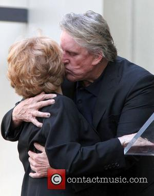 Maria Elena Holly and Gary Busey Buddy Holly Star Unveiling On The Hollywood Walk Of Fame Held In Front of...