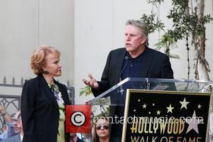 Maria Elena Holly, Gary Busey Buddy Holly Star Unveiling On The Hollywood Walk Of Fame Held In Front of Capital...