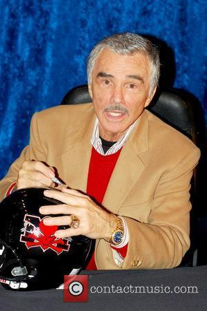 Burt Reynolds and Helmet