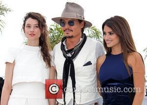 Astrid Berges-Frisbey, Johnny Depp and Penelope Cruz