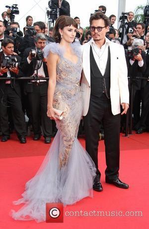 Johnny Depp and Penelope Cruz