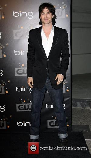Ian Somerhalder The CW's Premiere Party held at Warner Bros. Studios Lot Burbank, California - 10.09.11