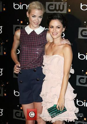 Jamie King and Rachel Bilson