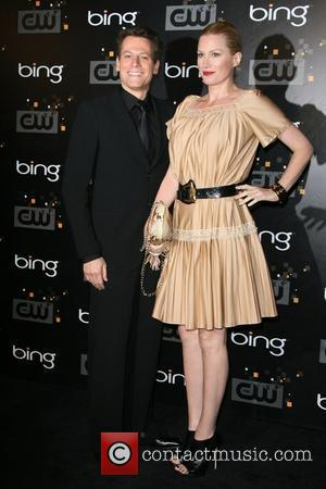 Ioan Gruffudd and Alice Evans The CW's Premiere Party held at Warner Bros. Studios Lot Burbank, California - 10.09.11