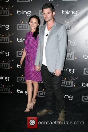 Rachael Leigh Cook and Daniel Gillies The CW's Premiere Party held at Warner Bros. Studios Lot Burbank, California - 10.09.11