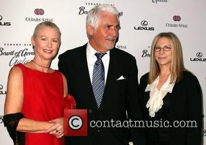 Merz, Barbra Streisand, James Brolin and Beverly Hilton Hotel