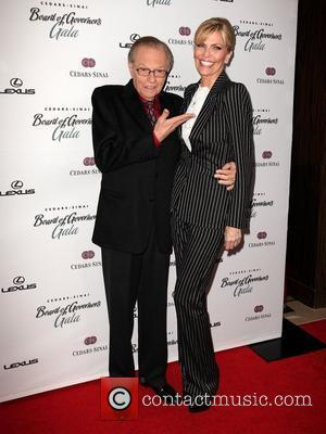 Larry King and Beverly Hilton Hotel